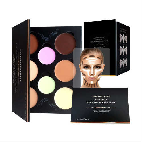 youngfocus makeup, vegan palette, vegan highlight, vegan contour, cruelty-free makeup, cruelty-free palette, no parabens, no phlatates