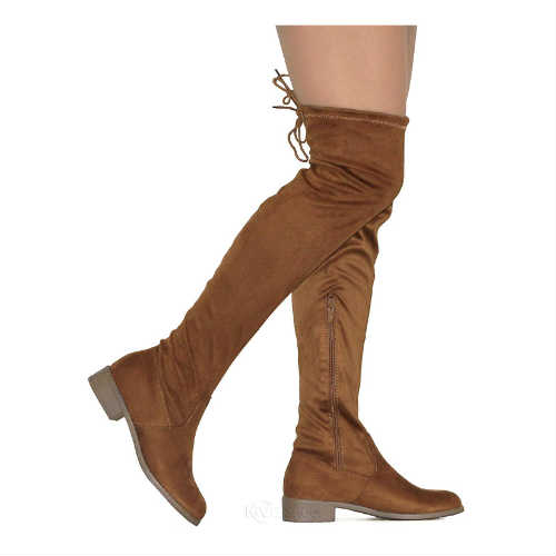 camel boots, tan boots, over the knee boots, faux leather shoes, faux leather boots, vegan shoes, vegan boots, thigh high boots, low heel boots