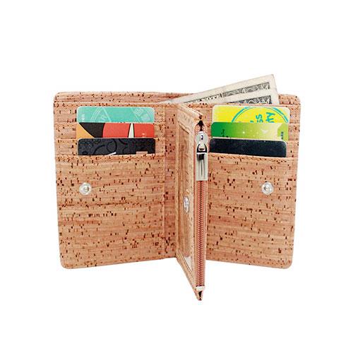 boshiho cork wallet, vegan wallet for men, cruelty-free wallet, environmental friendly wallet, non leather wallet, cork wallet